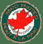 peint à la main au Canada
