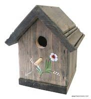 nichoir en bois pour mésange et sitelle