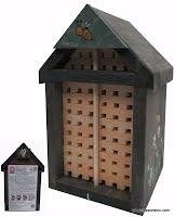 abris pour abeille, abris pour abeille solitaire, nichoir pour abeille